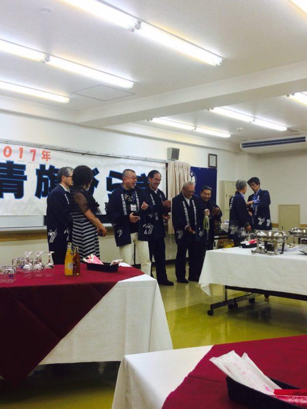 1/20 葛飾民商 青旗びらきに小野副会長が参加しました