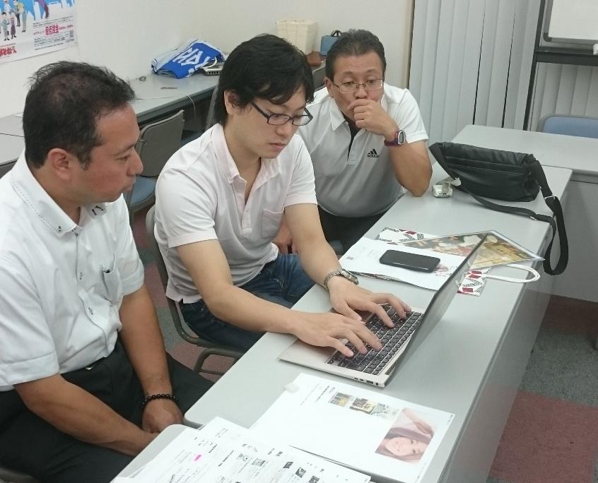 青年部 会員サイト作成学習会