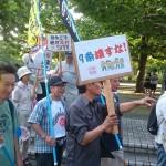 7/25 戦争法案ぶっ潰せ江東行動 1,000人パレードに参加しました